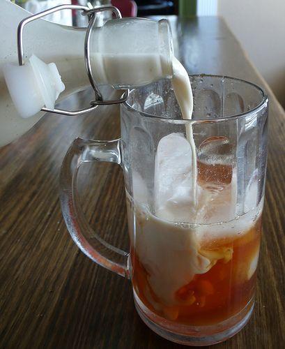 Iced Chai Tea Latte (simple/healthy Starbucks Copycat