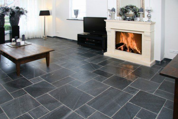 Natuursteen vloeren gespot door UWwoonmagazine