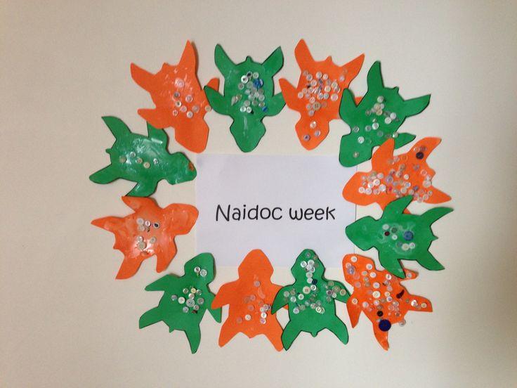 Naidoc week button craft