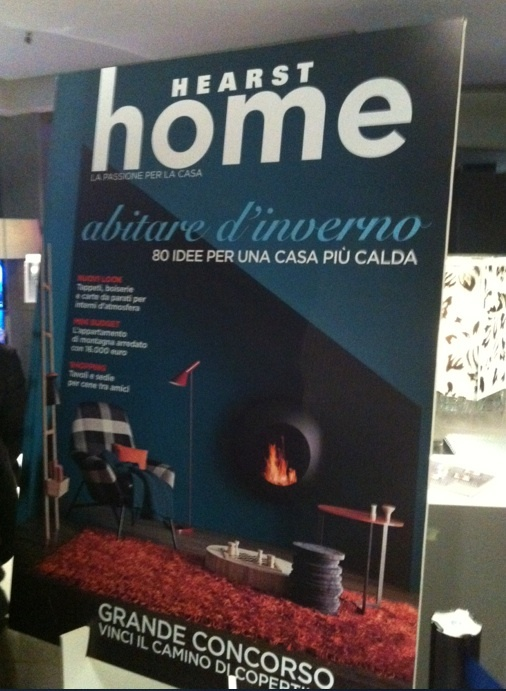 Caminetti da copertina: BB di Antrax IT sul numero di novembre di Hearst Home