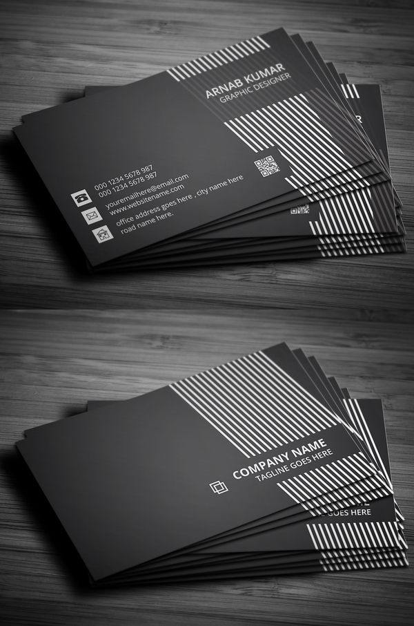 Creative Business Card #businesscards #psdtemplates #visitingcard #businesscardtemplate
