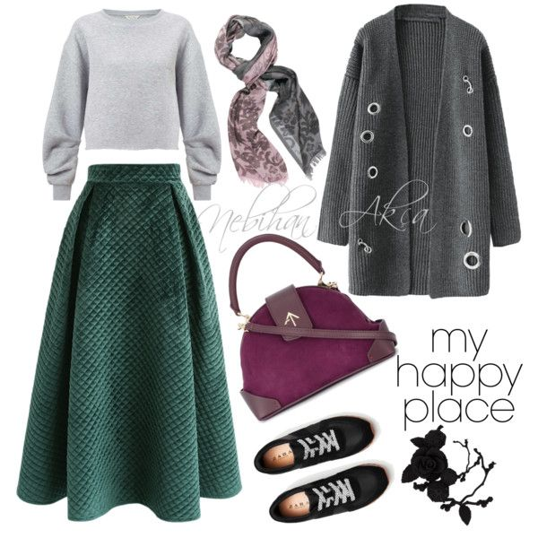 A fashion look from November 2017 by miniminilady featuring Miss Selfridge, Chicwish, MANU Atelier, olgafacesrok ve Chesca