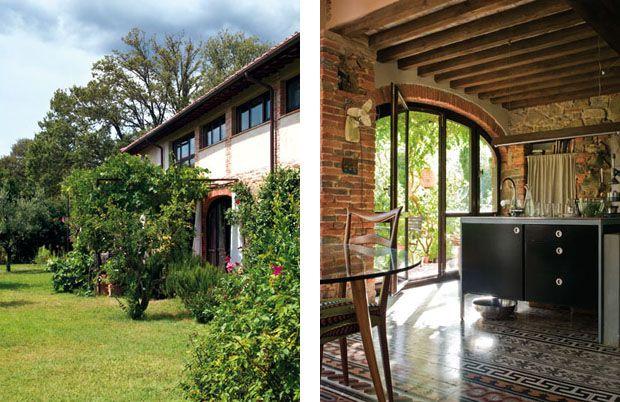 Silêncio de bosque na Toscana acolhe casal - Casa Vogue | Interiores