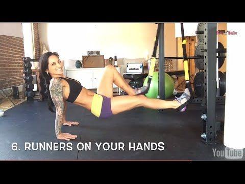 TRX Exercises for Women: TRX Atomic Push-Ups + TRX Ab Workout for Women - YouTube