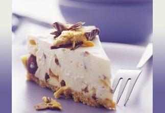 Choc-Honeycomb Cheesecake recipe