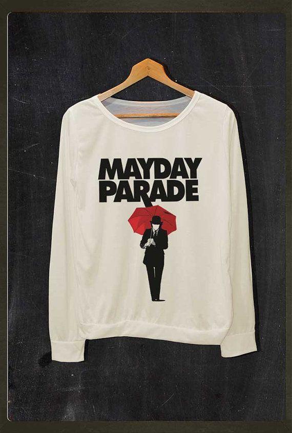 Mayday Parade Red Umbrella Pop Rock Shirt Long by FourthSeason, $16.99