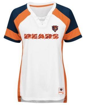 Majestic Women's Chicago Bears Draft Me T-Shirt - White XXL