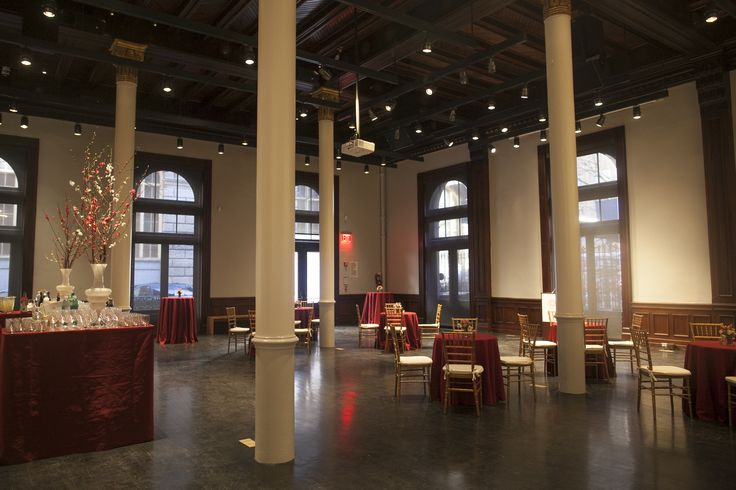 53 best event space layouts and furniture at brooklyn for Furniture history society
