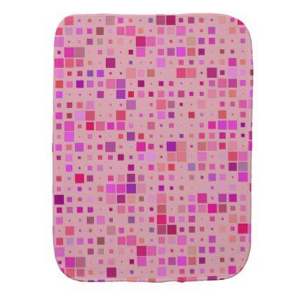 Geometric Pattern Burp Cloth - pattern sample design template diy cyo customize