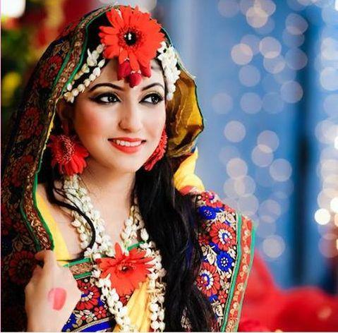 India,Bangladesh#Bengali bride's holud jewellery