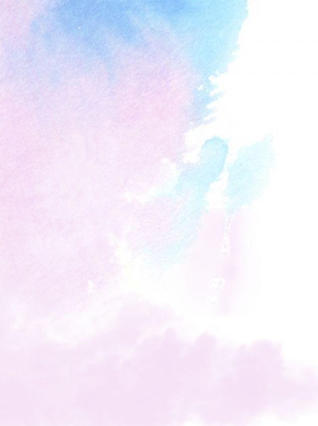 Simple Soft Color Blue Pink White Watercolor Background Blue Background Images Background Images