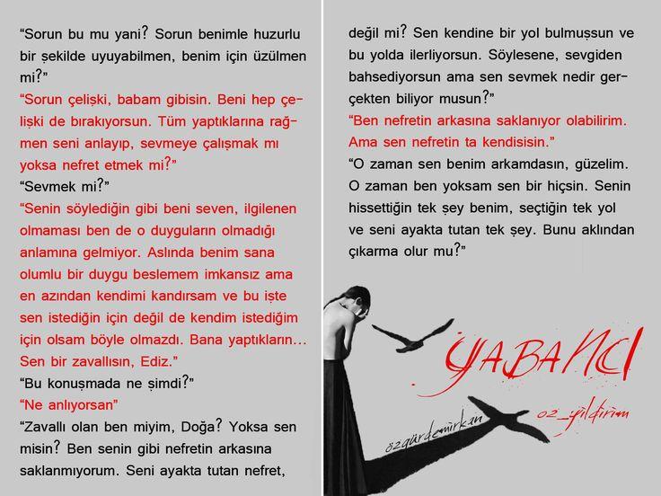 Wattpad Türkiye | Art, Hikaye: Yabancı, Yazar: oz_yildirim, Karakterler: Ediz Çağıran, Doğa Güngör
