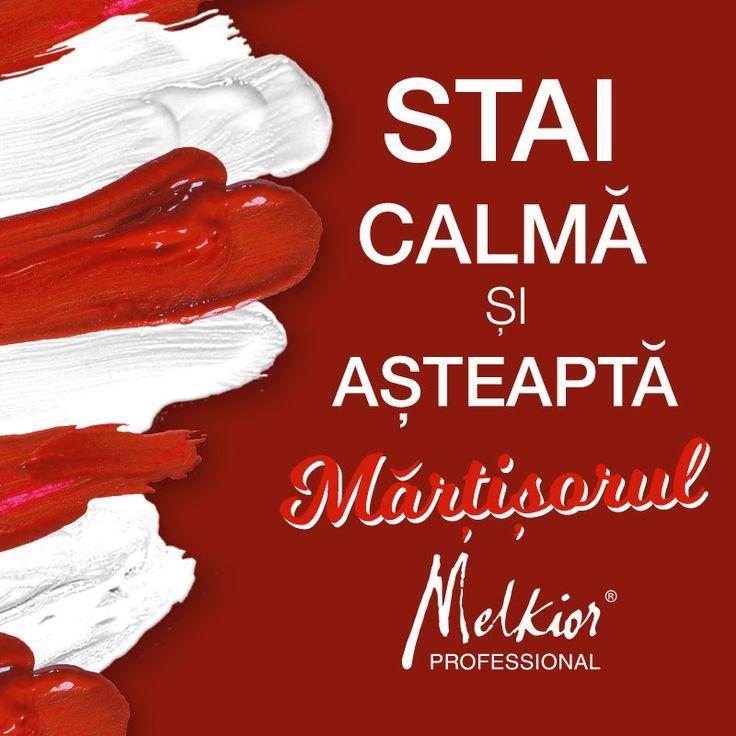 martisor red and white melkior