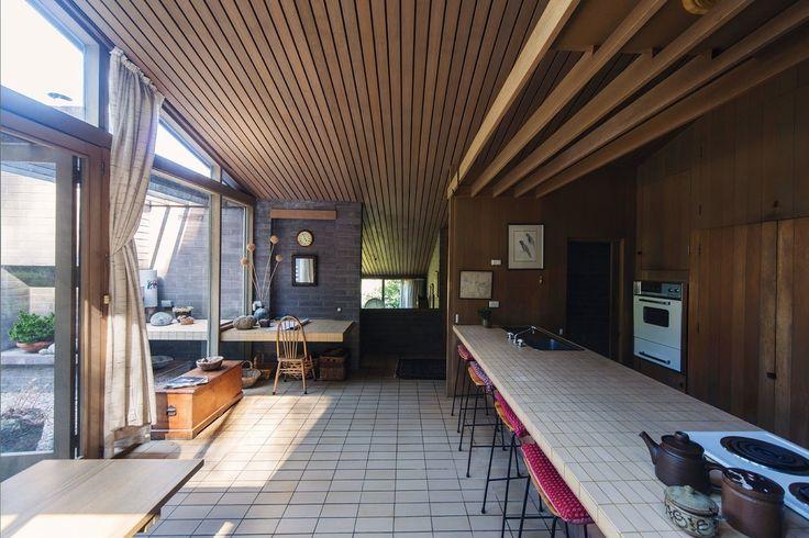 Mcglashan everist fern tree house 1969 hobart tas for Kitchen designs hobart