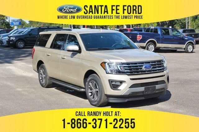 2018 White Gold Metallic Ford Expedition Max Xlt Suv Automatic 4