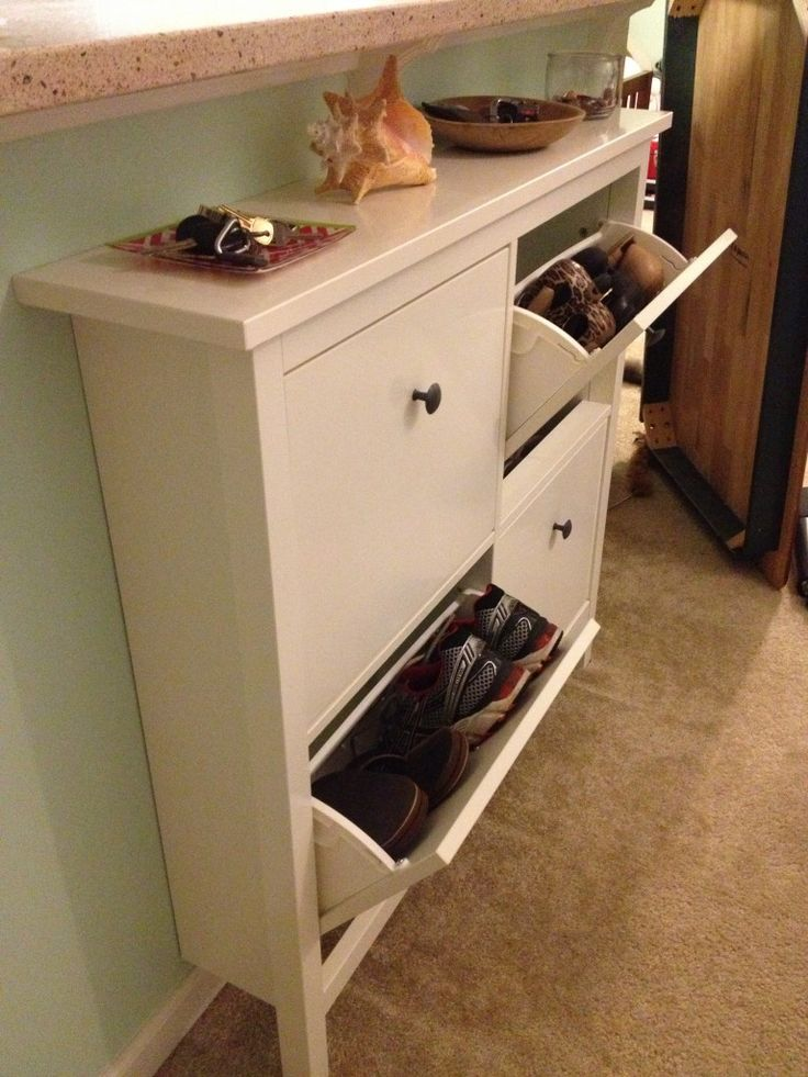Foyer Shoe Storage Solutions :