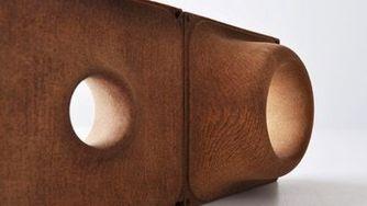 Las impresoras 3D también funcionan con madera o cemento