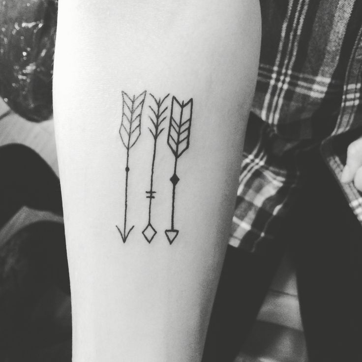 In love with the new tattoo three arrows for me and my for Tattoos for sisters of 3