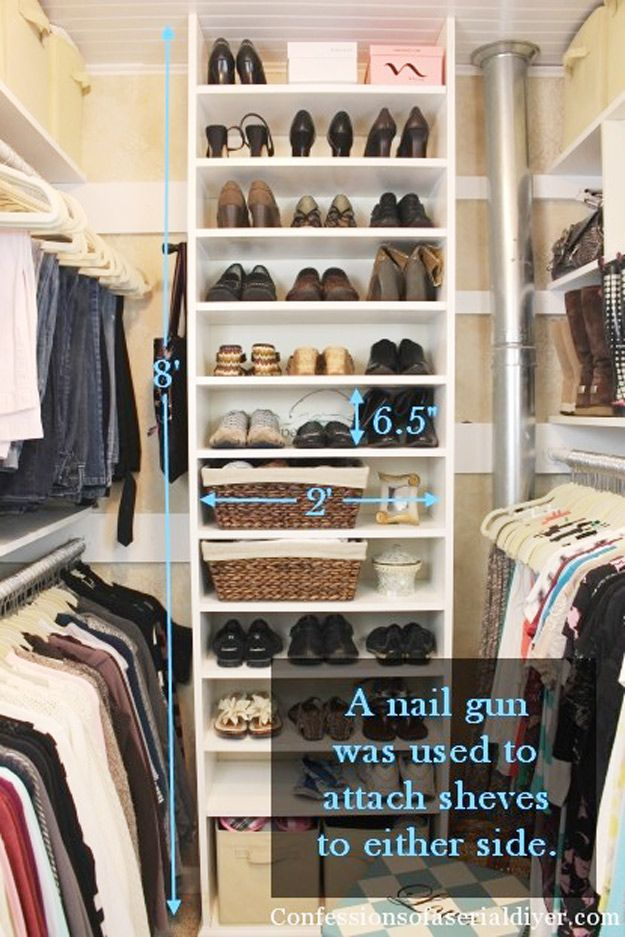 31 Closet Organizing Hacks And Organization Ideas
