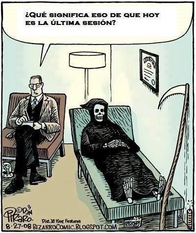 """La muerte y su psicólogo """"La última sesión"""""""