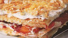 Сливовый торт Наполеон. Пошаговый рецепт с фото, удобный поиск рецептов на Gastronom.ru