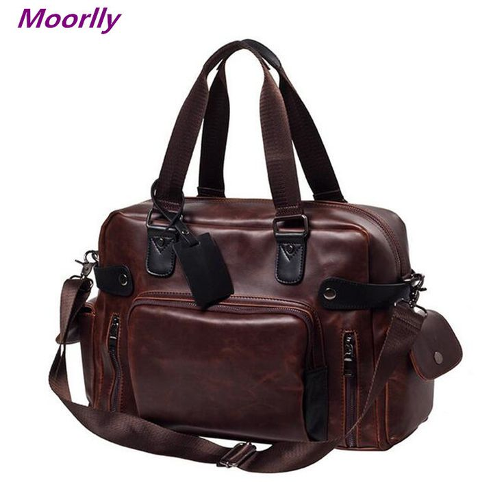 Moorlly Men messenger bags 2016 office bags for men brand leather briefcases men business men bags high quality office bags
