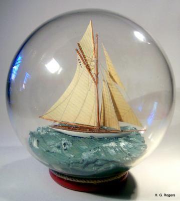 """Ship In Bottle - Mariquita"" - by Gabrielle Rogers"