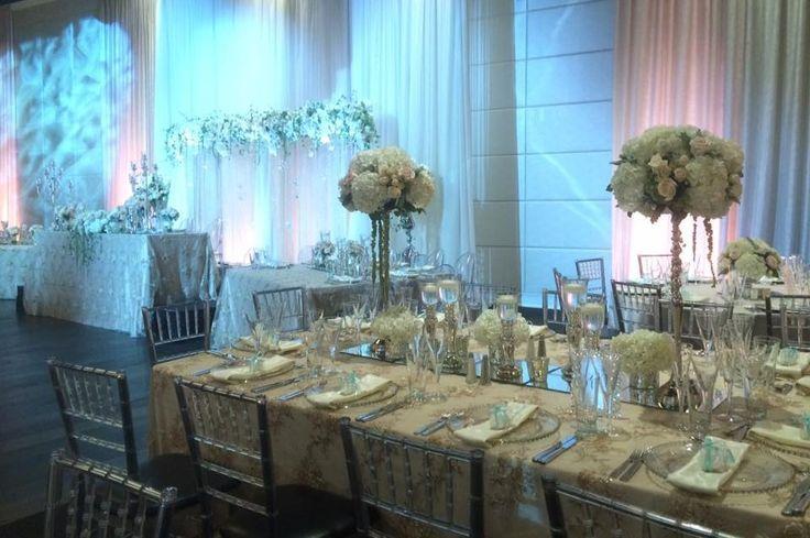 Vintage Elegant Wedding - Toronto, ON     Head table design   Planning, Design & Decor Rentals Blissful Memories & Events   Precious Flowers N' Things    Venue The Grand Luxe Event Boutique #Torontowedding #vintageelegance #elegantwedding #blissfulmemoriesandevents #headtabledesign #Torontoweddingplanner