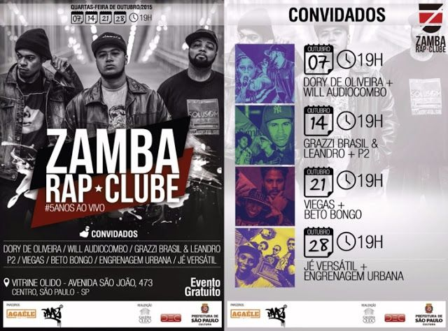 Rádio Base: Galeria Olido traz shows de rap nas quartas-feiras...