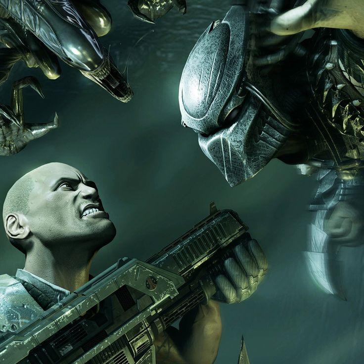 Aliens vs. Predator Game Wallpaper