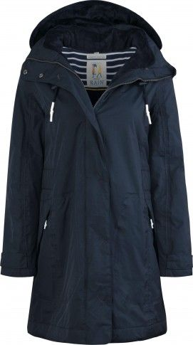 Seasalt Regenjacke Spinnaker Coat Fathom - Dunkelblau #hanseheld #seasalt #regenjacke #mode #fashion