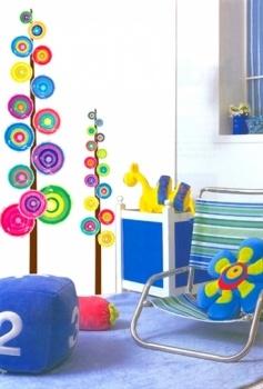 Lollipop Tree. Een boom vol likstokken! #muurstickers #Decowall #Decodomus