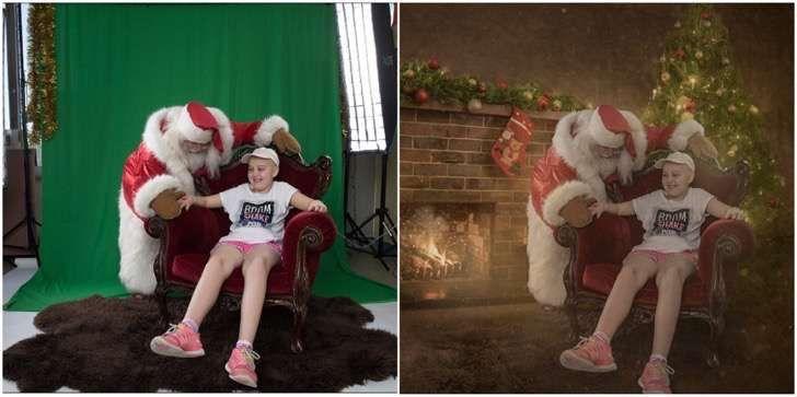 Transportó a niños enfermos del hospital a lindos escenarios para que no se perdieran de la Navidad