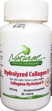 Hydrolyzed Collagen - This 100% pure collagen protein supplement provides the major building materials for the growth and maintenance of nails, hair and skin. Collagen is also an essential component of muscles, tendons, cartilage and teeth.