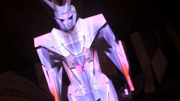 Gundam 5083R Projection Mapping