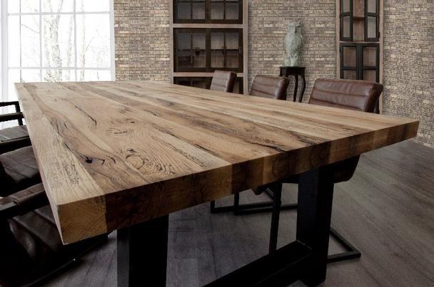 Pin Von Alissia Auf Esszimmer Rustikale Tische Tisch Rustikal