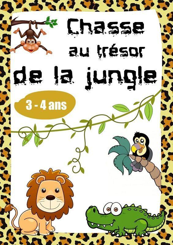 Petits jeux animaux de la jungle | Jeux et Cie