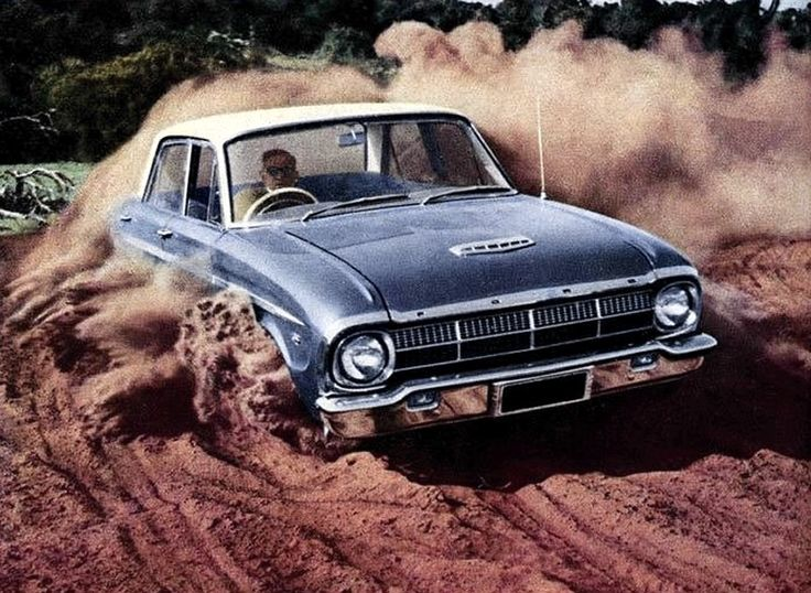 1964 XM Ford Falcon - in the Australian Outback (bull dust road)