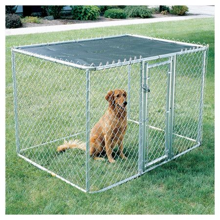 Found it at Wayfair - Chain Link Portable Dog Kennel