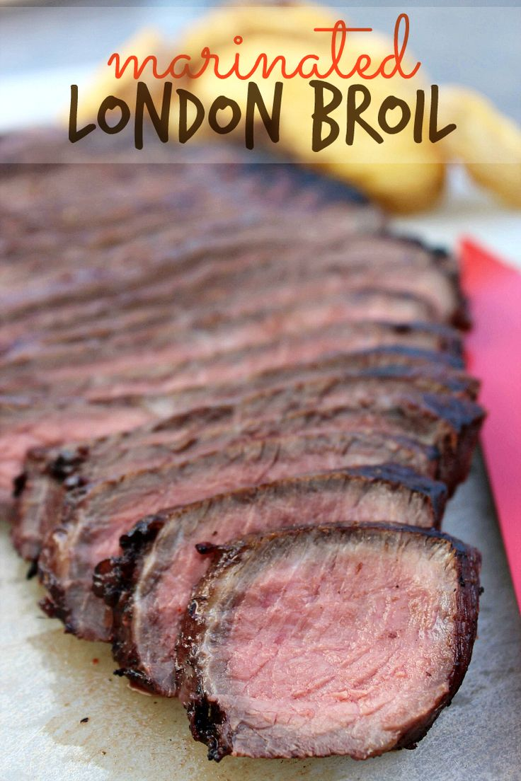 Marinated London Broil -- Perfect for grilling! Recipe on www.MommyMusings.com