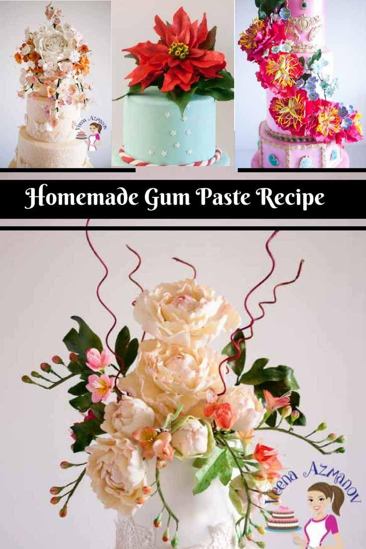 Cake Decorating Gum Paste Recipe : 17 Best images about My Blog #Tutorials - Veena Azmanov # ...