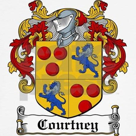 courtney coat of arms - Google Search
