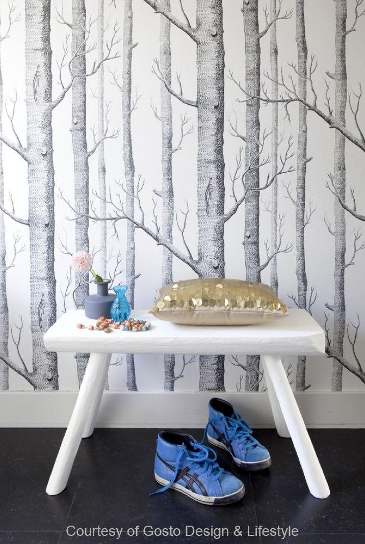 Papier peint Woods - Etoffe.com