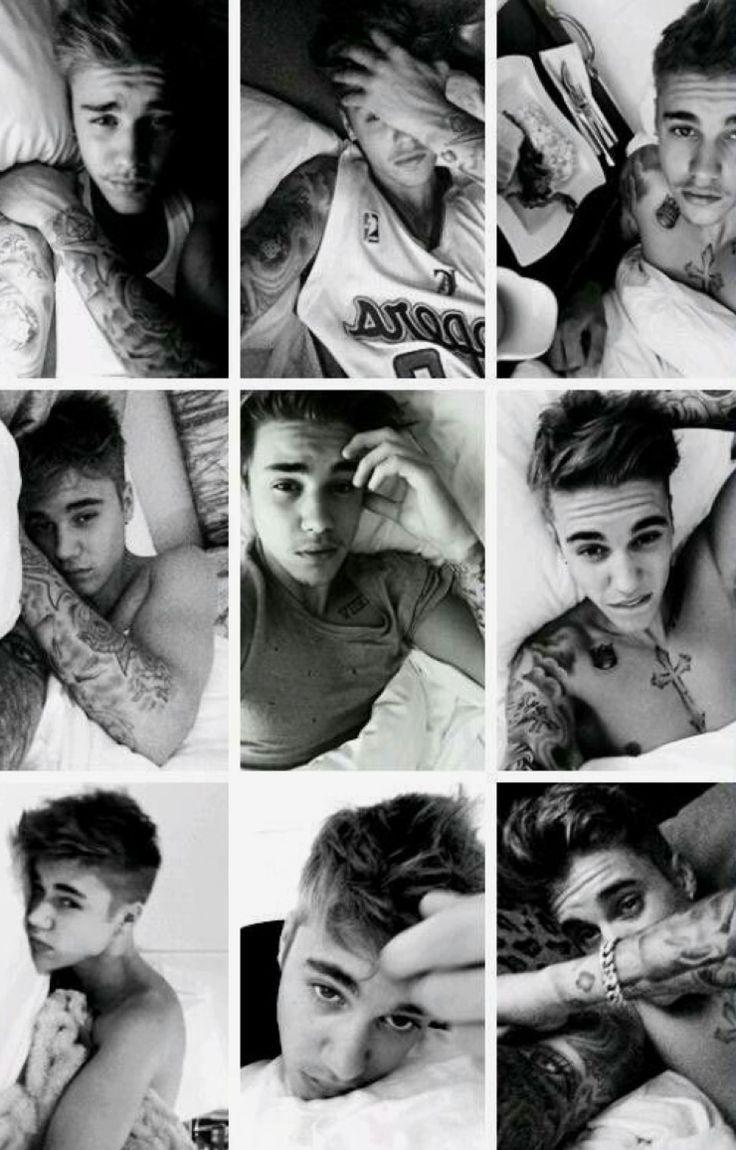 cute pic of Justin Biebr
