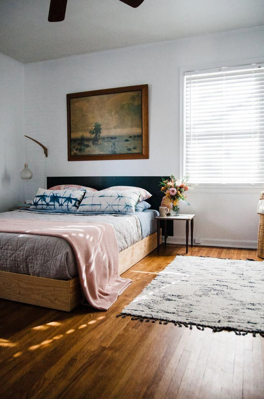 5 Bedroom Modern Farm House Floor Plans: Simple, Modern, Minimal, Colorful Bedroom Update Featuring