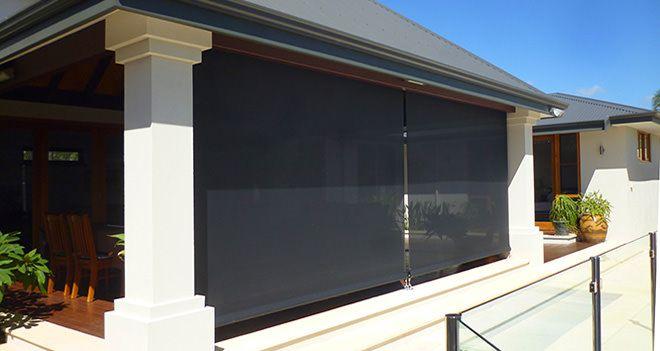 Best 25 patio blinds ideas on pinterest sliding door for Bella retractable screen door