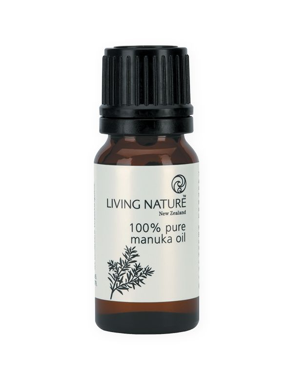 Living Nature Natural Product 100% Pure Manuka Oil | All Skin Types | Anti-Acne  - 1