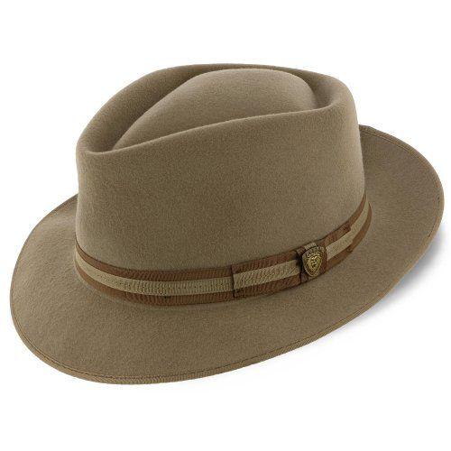 42d390d58 Capistrano - Dobbs Wool Felt Fedora Hat in 2019 | Men - Fedora Hats ...