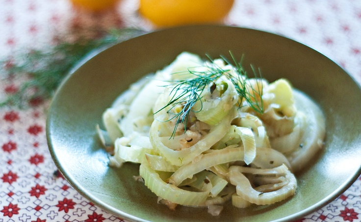 Caramelized Leeks with Fennel Bulb
