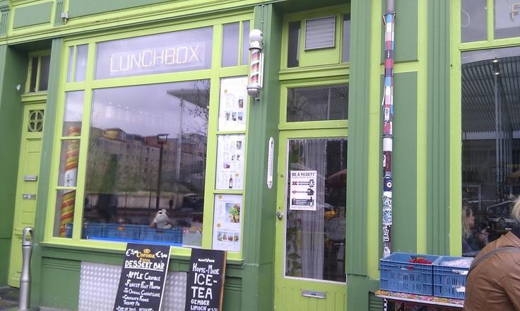 Antwerp: lovely breakfast & lunch @ Lunchbox